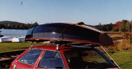 Black Fly 8 on roof rack