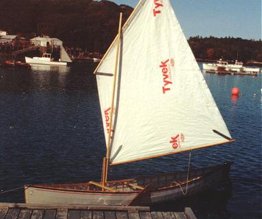 SnowShoe 16 with a Jiffy-Sail