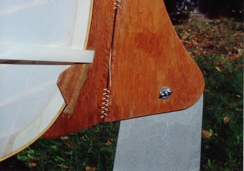 SnowShoe 16 with detachable rudder