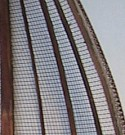 Hull section made of Str-r-etch Mesh
